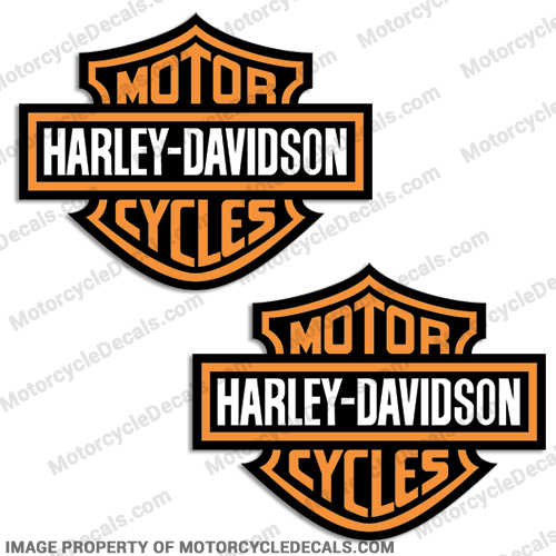Harley-Davidson Fuel Tank Motorcycle Decals (Set of 2) - Style 4