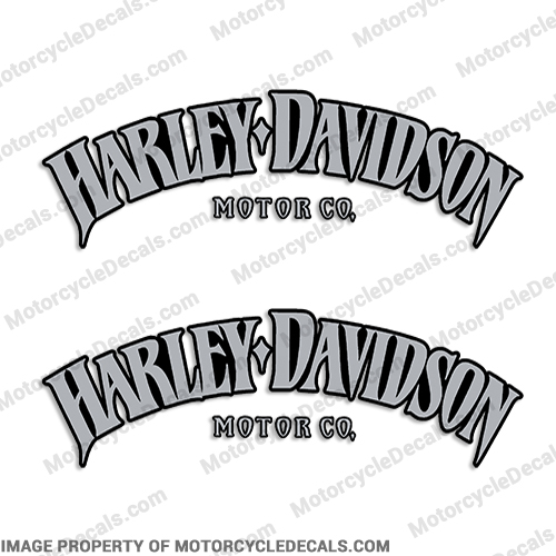Harley-Davidson Fuel Tank Motorcycle Decals (Set of 2) - Style 7