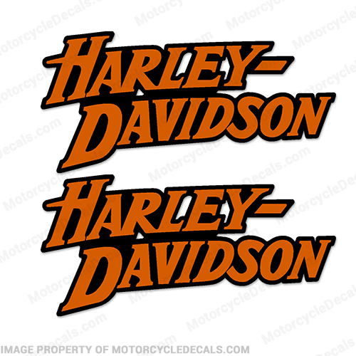 Harley-Davidson Fuel Tank Motorcycle Decals (Set of 2) - Style 6