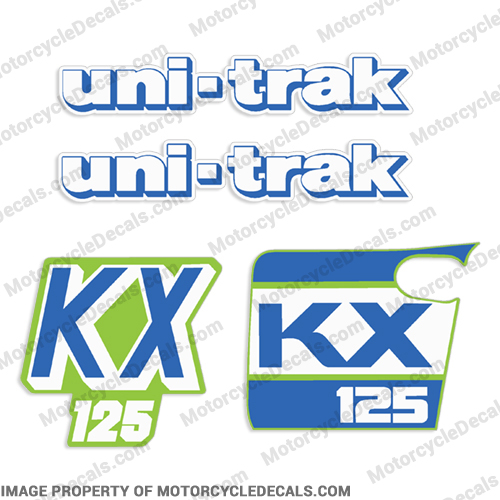 Kawasaki KX125 Decal Kit