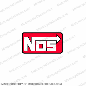 NOS logo Decal