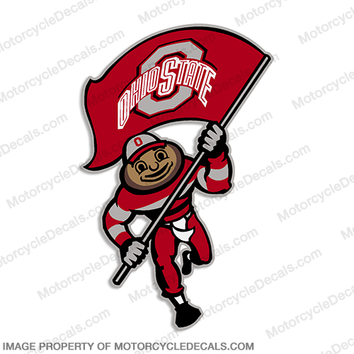 NCAA Ohio State Decal 10""