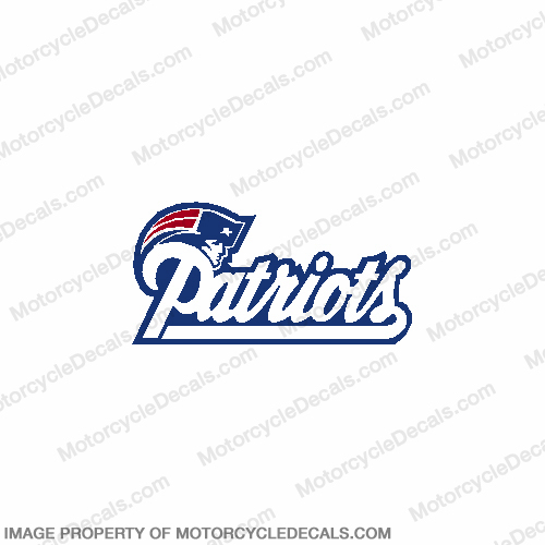 NFL New England Patriots Decal 6""