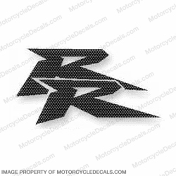 "900RR Carbon Fiber Side ""RR"" Decal"