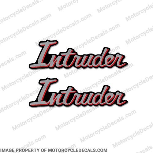 Suzuki Intruder Side Panel Decals - 1988 (Set of 2)