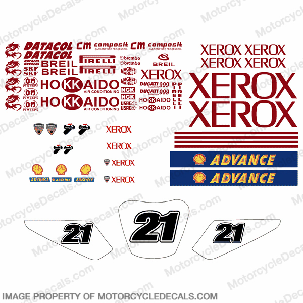 Xerox Pocket Bike Decal Kit